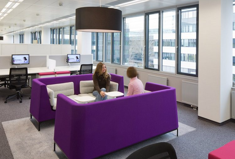 Office refurbishment company london k2 space for Office refurbishment