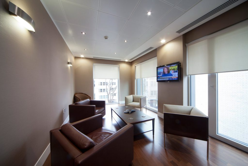 Platinum equity mayfair office design case study k2 space for Office design case study