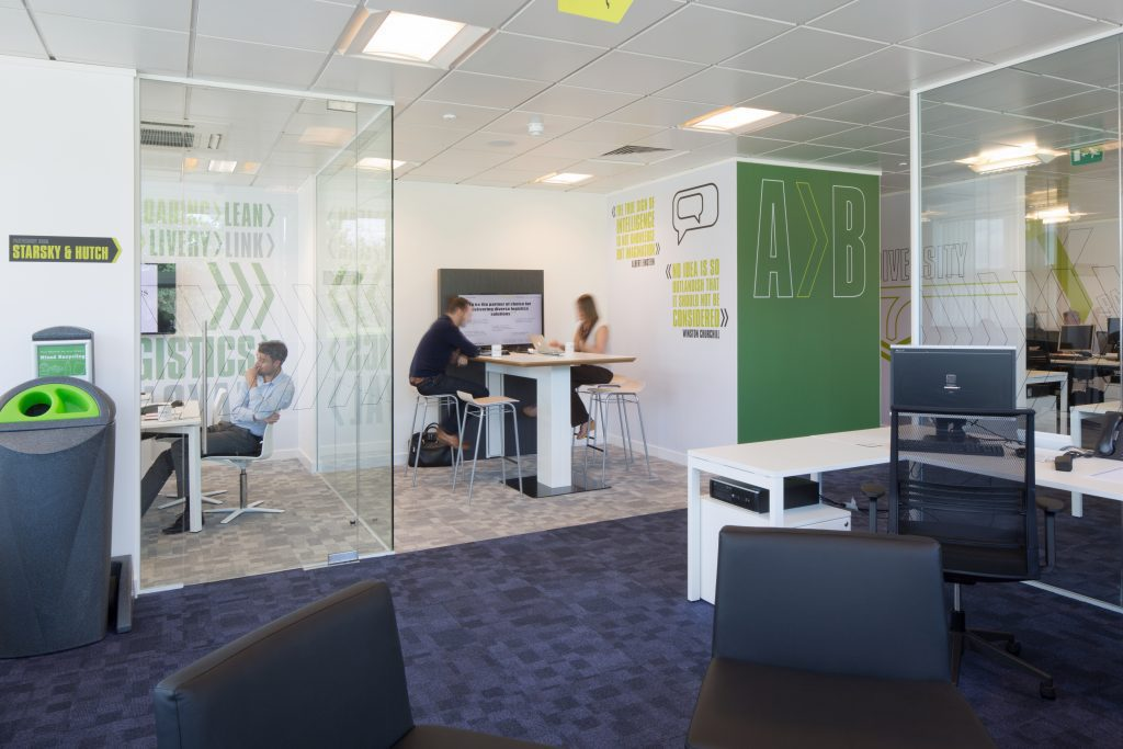 A new home for leading publishers news uk k2 space for Office design news