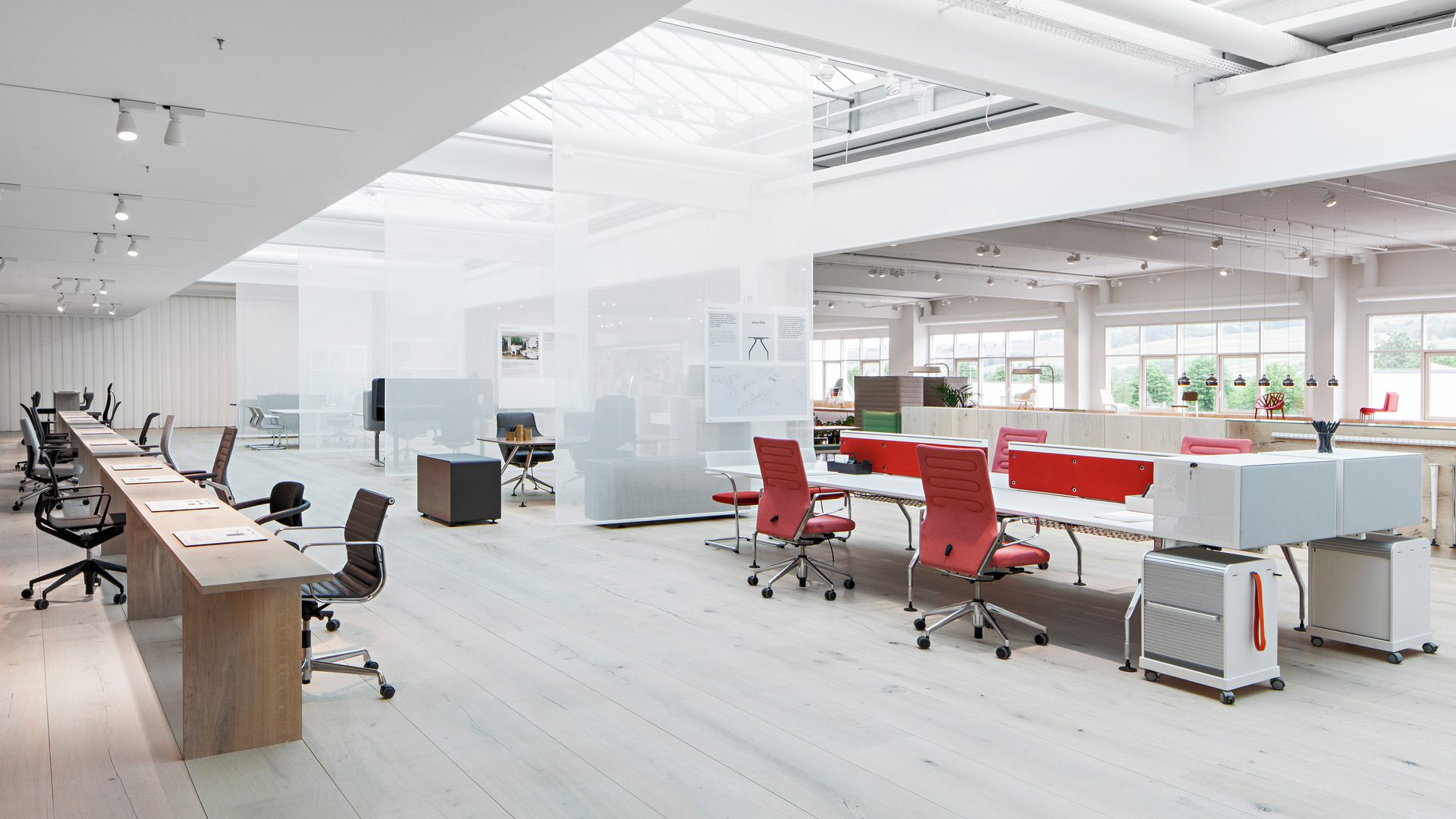 Vitra furniture dealer london k2 space the office for Big office design