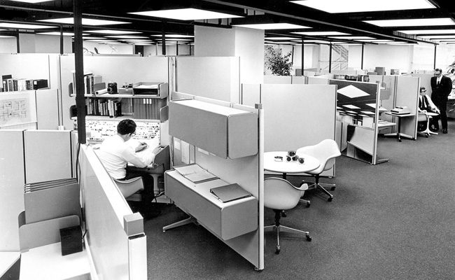 The history of office design