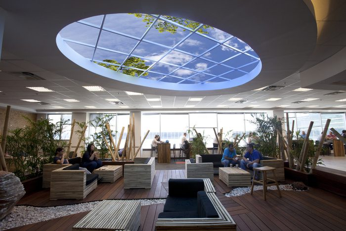 Sky Ceiling Workplace