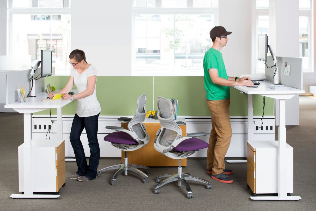 The Rise Of The Sit Stand Desk In The Workplace K2 Space