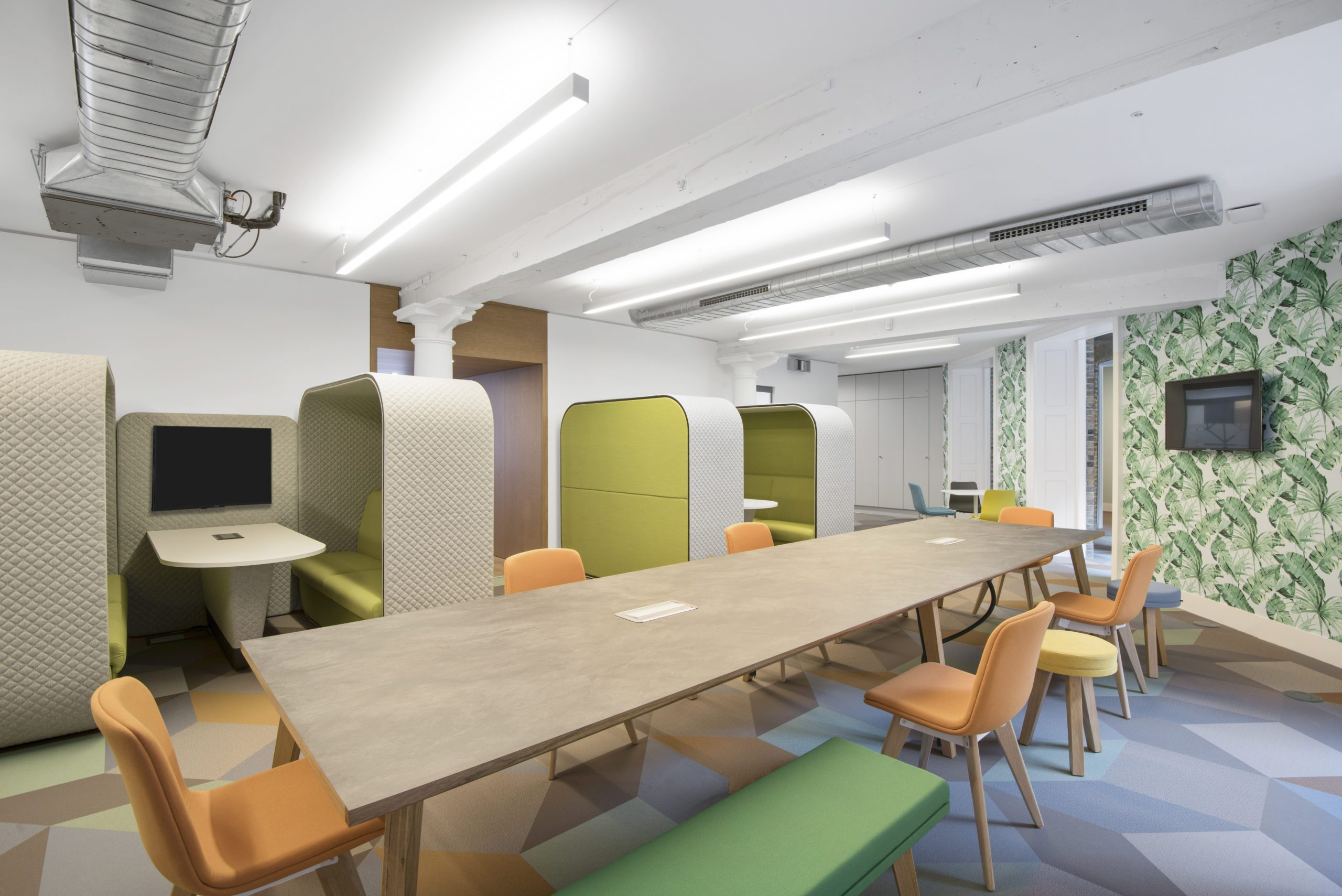 Enabling Agile Working through Office Design - K2space