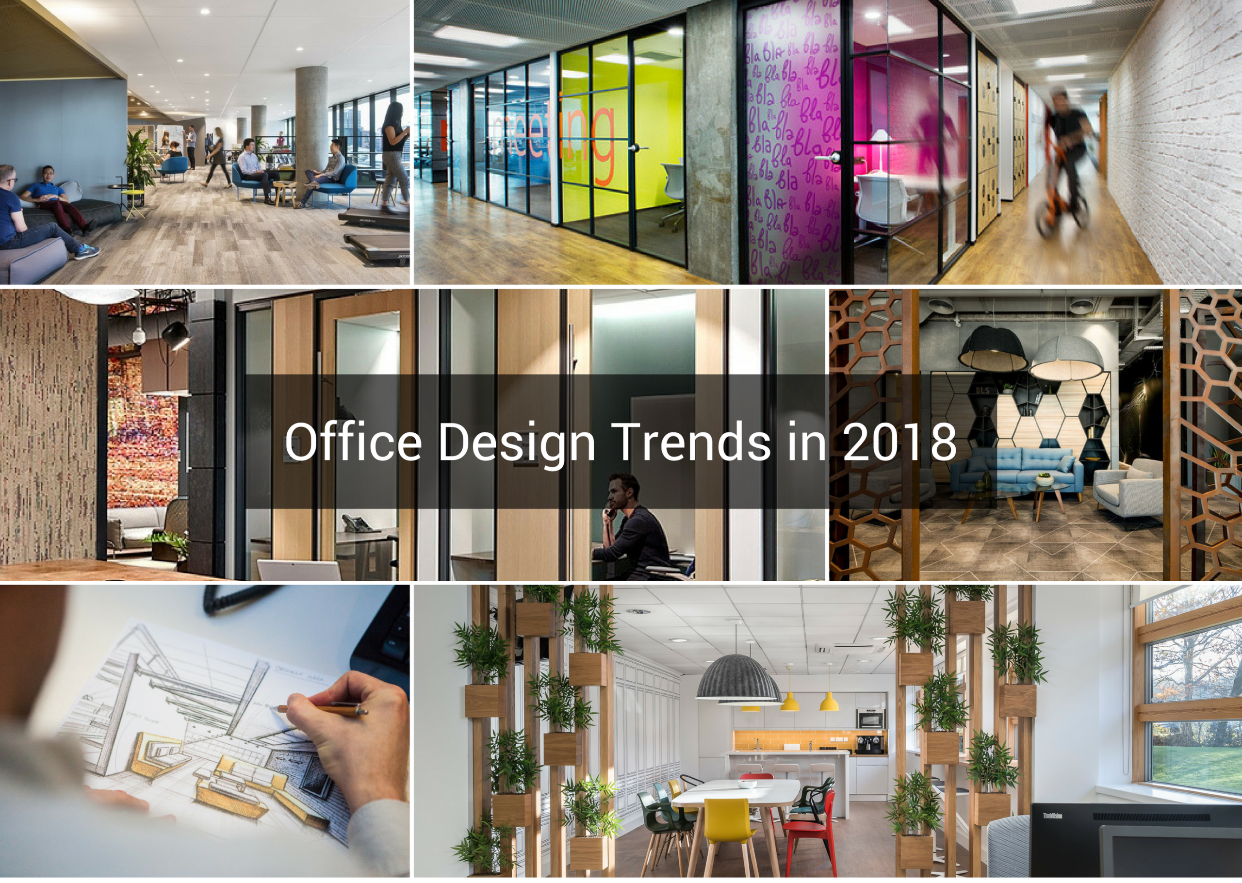 Office design trends to watch out for in 2018 k2 space for Office design guidelines uk