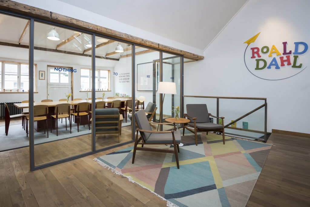 london office design. Roald Dahl London Office Design