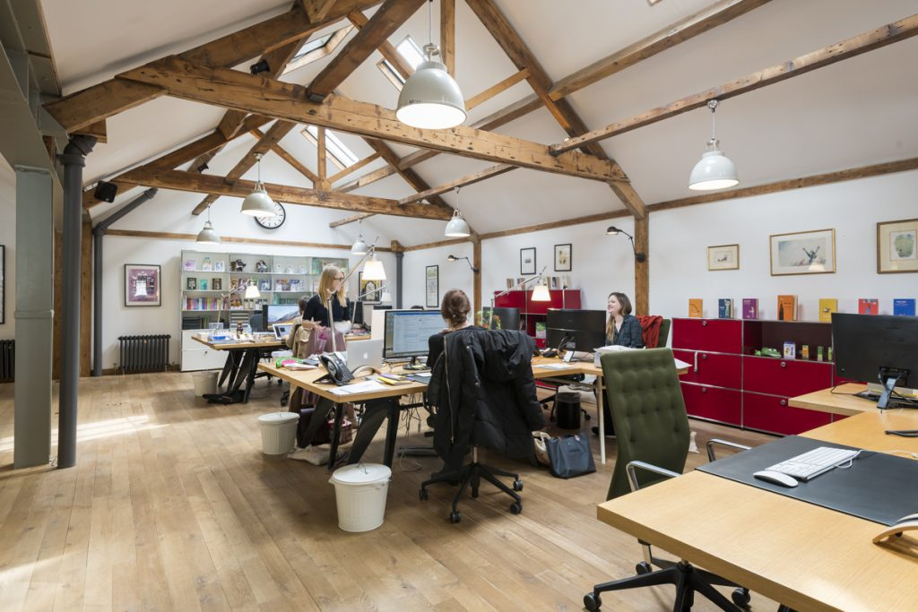 Roald Dahl London Office Design