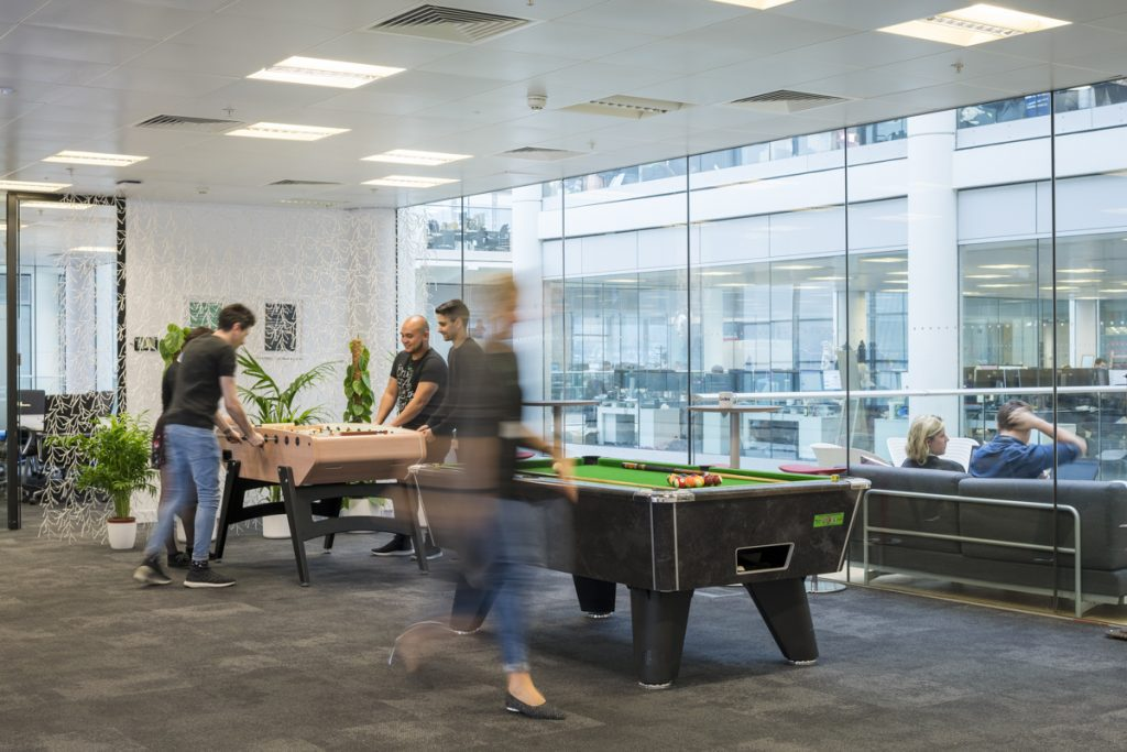 Games Area at VoucherCodes London